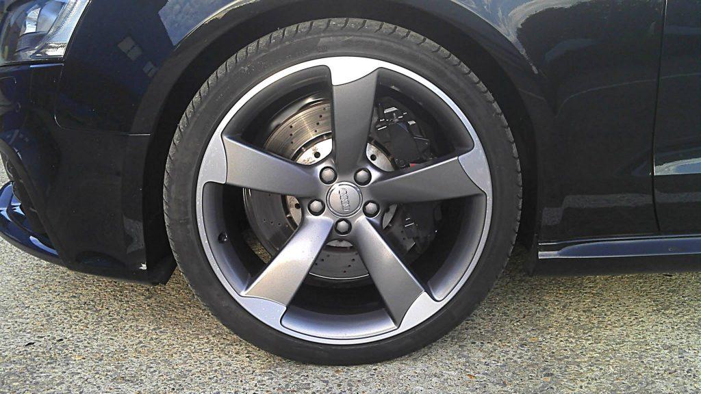 audi diamond cut alloy wheel We Fix Alloys